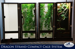 Dragon Strand Compact Cage System for Chameleons