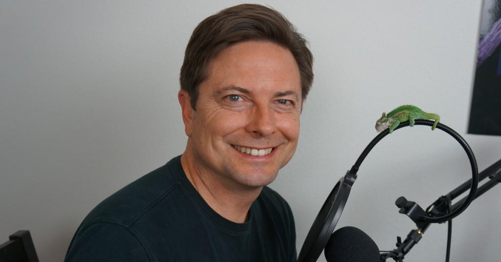 Chameleon Breeder Podcast Host Bill Strand