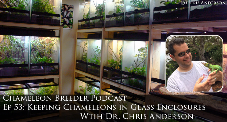 Chameleons in Glass Enclosures with Dr. Chris Anderson
