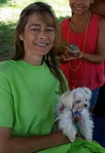 Cheryl Garcia chameleon rescue