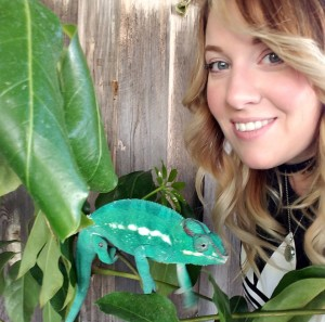 Elise Stein of The Chameleon Enthusiasts