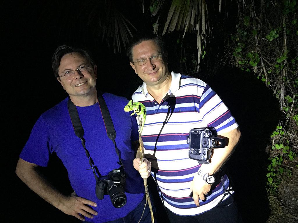 Petr Necas and Bill Strand